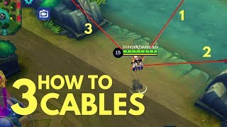 FANNY THREE CABLE SIMPLE GUIDE | WTFacts | Mobile Legends