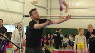 Coach Saves Gymnast's Life!! Epic Save!