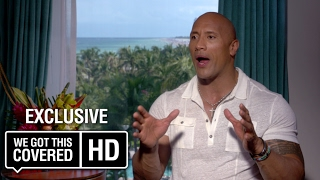 EXCLUSIVE Interview: Dwayne Johnson Talks BAYWATCH and BLACK ADAM [HD]