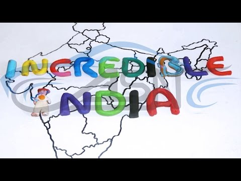 Incredible India(clay animation) by ASN production