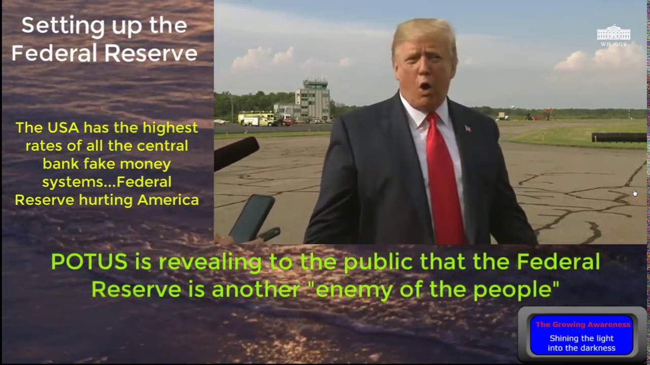The Growing Awareness Donald Trump Press Briefing ... Key parts 8-16-2019