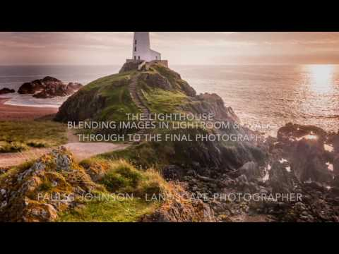 Landscape Photography. The Lighthouse At Twr Mawr, Lightroom Workflow