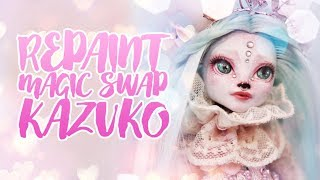 ☽ Moonlight Jewel ☾ Repaint Magic Swap Kazuko the Shironuri Pan