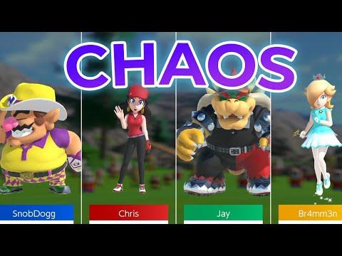 4 Chaoten auf dem Golfplatz | Mario Golf: Super Rush