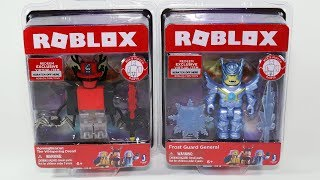 Roblox Frost Guard General and The Whispering Dread Figures
