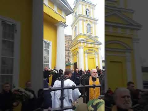 Прощание с Михаилом Задорновым в Риге(3)