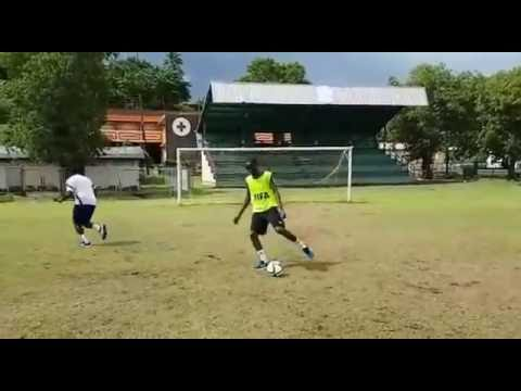 Kerwin Caesar Goalkeeping Saves (FIFA Course 2016)