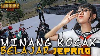 PRANK JADI SISWI JEPANG MALAH DIGODAIN MINANG KOCAK !! - PUBG MOBILE INDONESIA