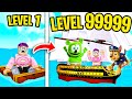 Can We BUILD A BOAT FOR TREASURE In ROBLOX?! (MAX LEVEL BOAT REVEALED!)