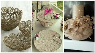 Jute crafts decoration Ideas