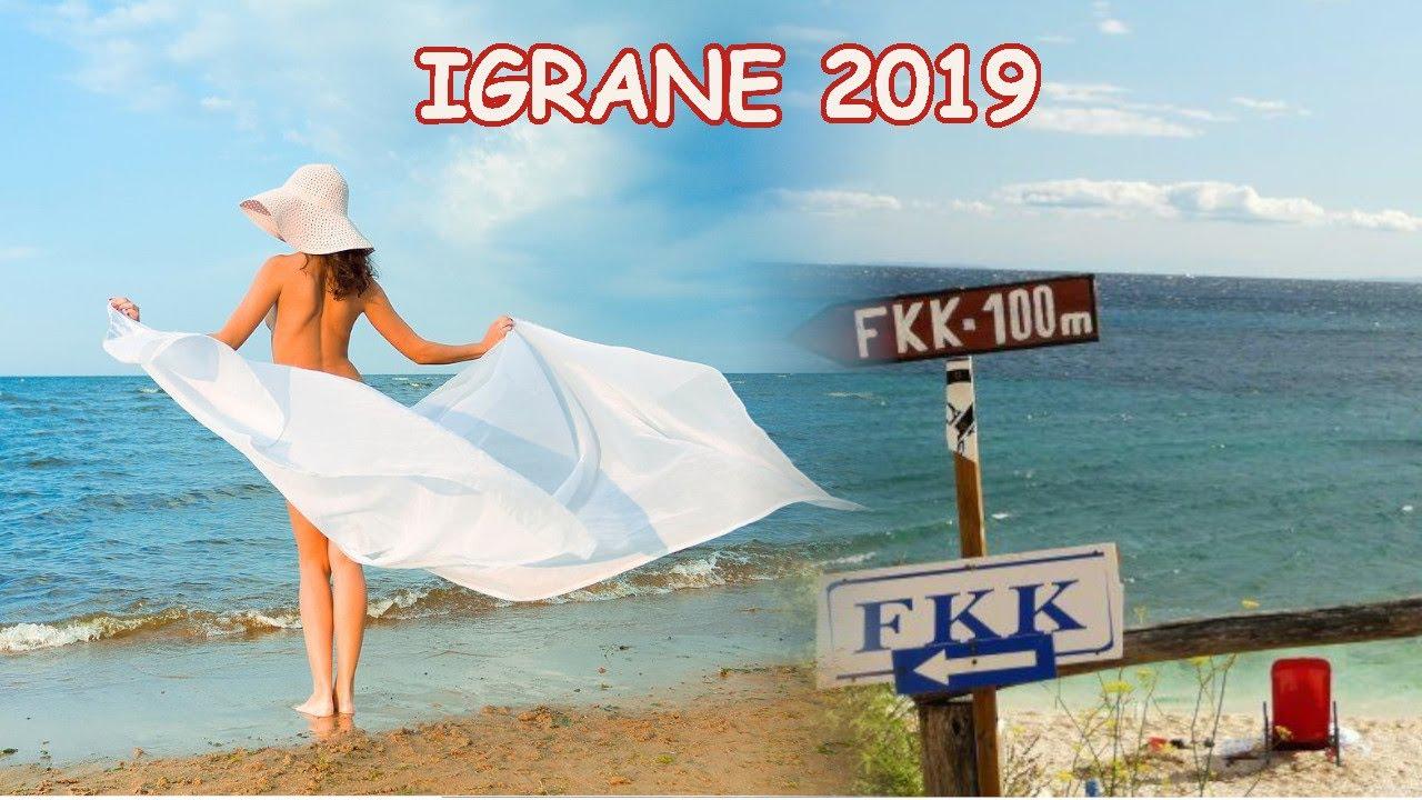 Igrane 2019 - FKK beach - YouTube