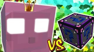 RAINHA DOS SLIMES VS. LUCKY BLOCK CHAOS (MINECRAFT LUCKY BLOCK CHALLENGE JELLY QUEEN)