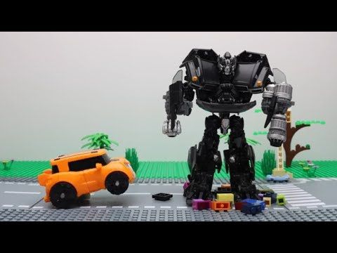 Tobot Robot Stop motion Hello Carbot Airplane Rescue Lego Transformers Aventure Mainan Car Toys Kids