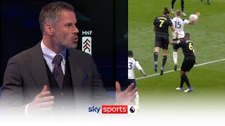 'This is a JOKE!'   Jamie Carragher on the new handball rule   Monday Night Football