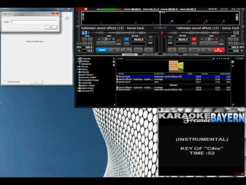 Advanced Karaoke Show mit VirtualDJ (von DJ Lucky Luciano)