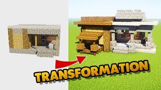 COMMENT TRANSFORMER UNE FORGE VILLAGE PNJ  | MINECRAFT
