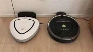 パナソニックのお掃除ロボのルーロとルンバの音の比較 thumbnail