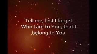 Remind Me Who I Am (Lyrics) - Jason Gray
