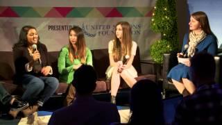 Sunita Rao, Isabella Rose Taylor, Jennifer Zammuto & Renee Wilson: SXSW Social Good Hub 2015