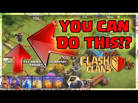 Clash Of Clans DEPLOY TROOPS HERE!? in BATTLE THEORY | XMAS / Glitch / CLASHMAS Clan Games 2017