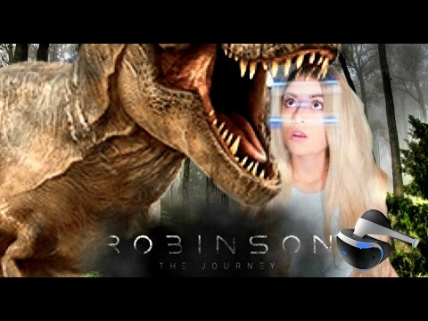 ALONE IN A WORLD OF DINOSAURS! | Robinson The Journey (Playstation VR)