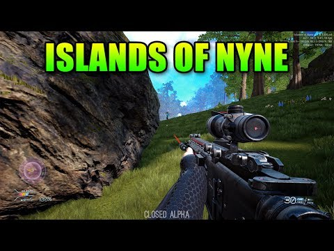 Islands Of Nyne - Finally A True FPS Battle Royale