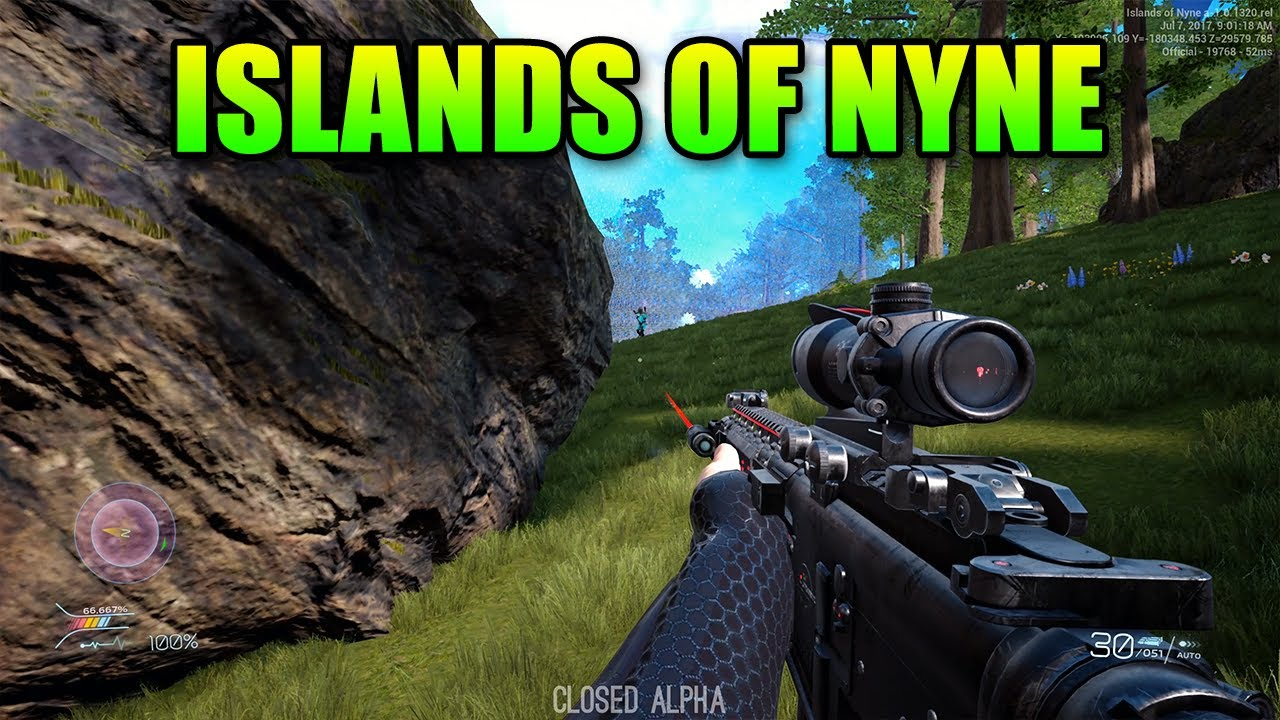 Islands Of Nyne - Finally A True FPS Battle Royale - YouTube
