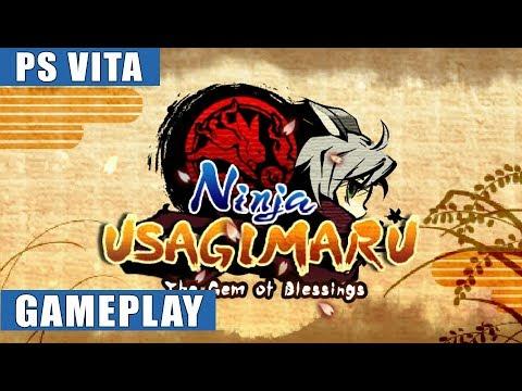 Ninja Usagimaru: Two Tails of Adventure PS Vita Gameplay