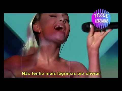 Ariana Grande - No Tears Left to Cry (Tradução) (Legendado) (Ao Vivo)