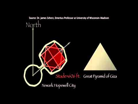 The Newark Ohio, Earthworks and the Great Pyramid of Giza