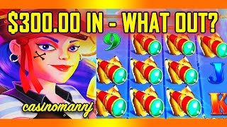 🎏 A'COINS MATEY🎏  - $300.00 IN - WHAT OUT? AM I EVER GOING TO BONUS? - Slot Machine Bonus