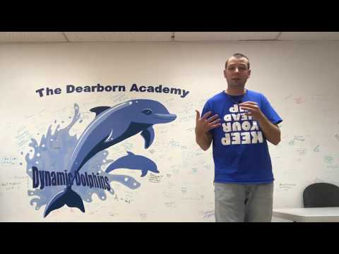 Mr. Peace Visits The Dearborn Academy School in Dearborn, Michigan