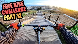 THE FREE BIKE CHALLENGE - PART 12 - URBAN DOWNHILL