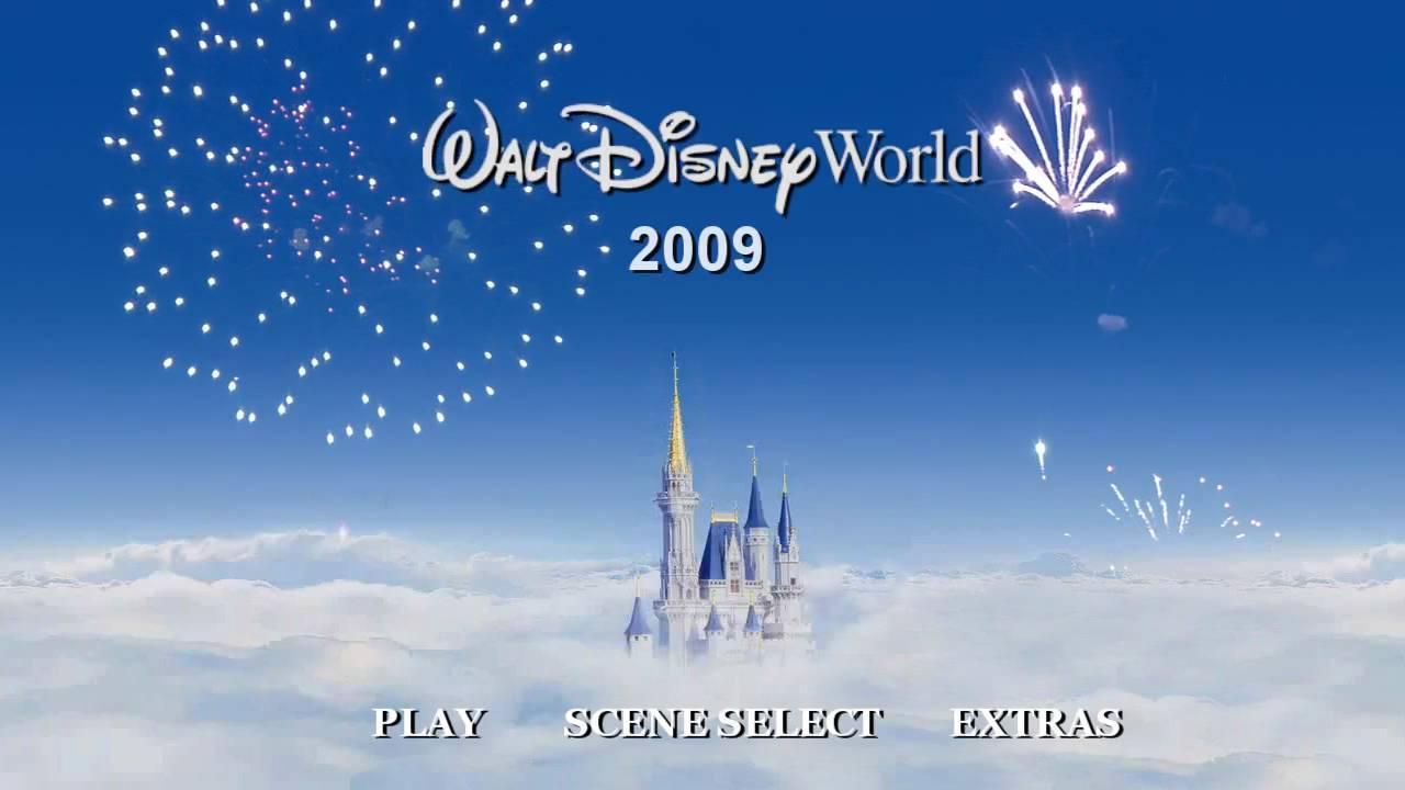 Disney World Main Dvd Menu Youtube