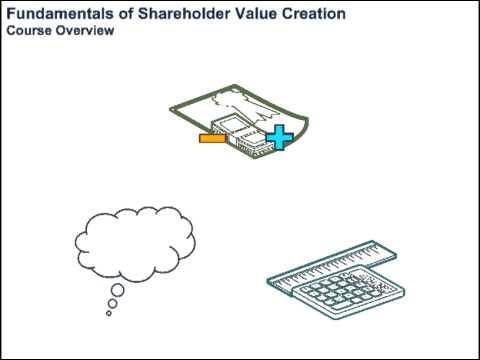 Fundamentals of Shareholder Value Creation