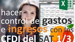 Video Control de Ingresos y Gastos (1/3) - DESCARGAR CFDIs DEL SAT (2017) download MP3, 3GP, MP4, WEBM, AVI, FLV Oktober 2018