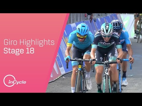Giro d'Italia 2018 | Stage 18 Highlights | inCycle