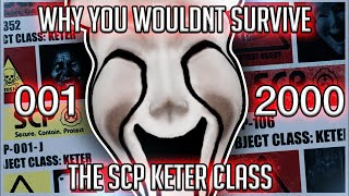 Why You Wouldn't Survive SCP's Keter Class (001-2000)