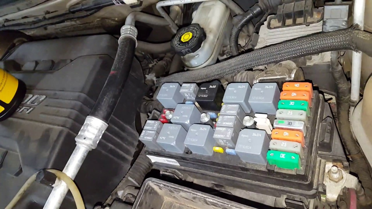 Chevy Equinox Ac Fuse And Relay