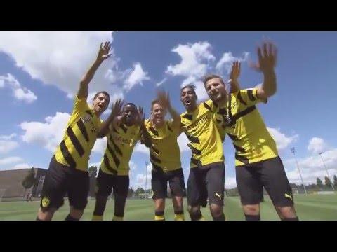 Henrikh Mkhitaryan Crossbar Challenge   Borussia Dortmund
