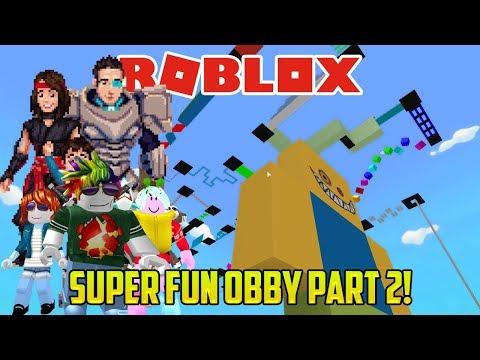 Roblox: ITT_DAD IS A NINJA MASTER WARRIOR (Super Fun Obby part TWO)