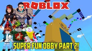 Roblox: ITT_DAD IS A NINJA MASTER WARRIOR (Super Fun Obby part TWO)