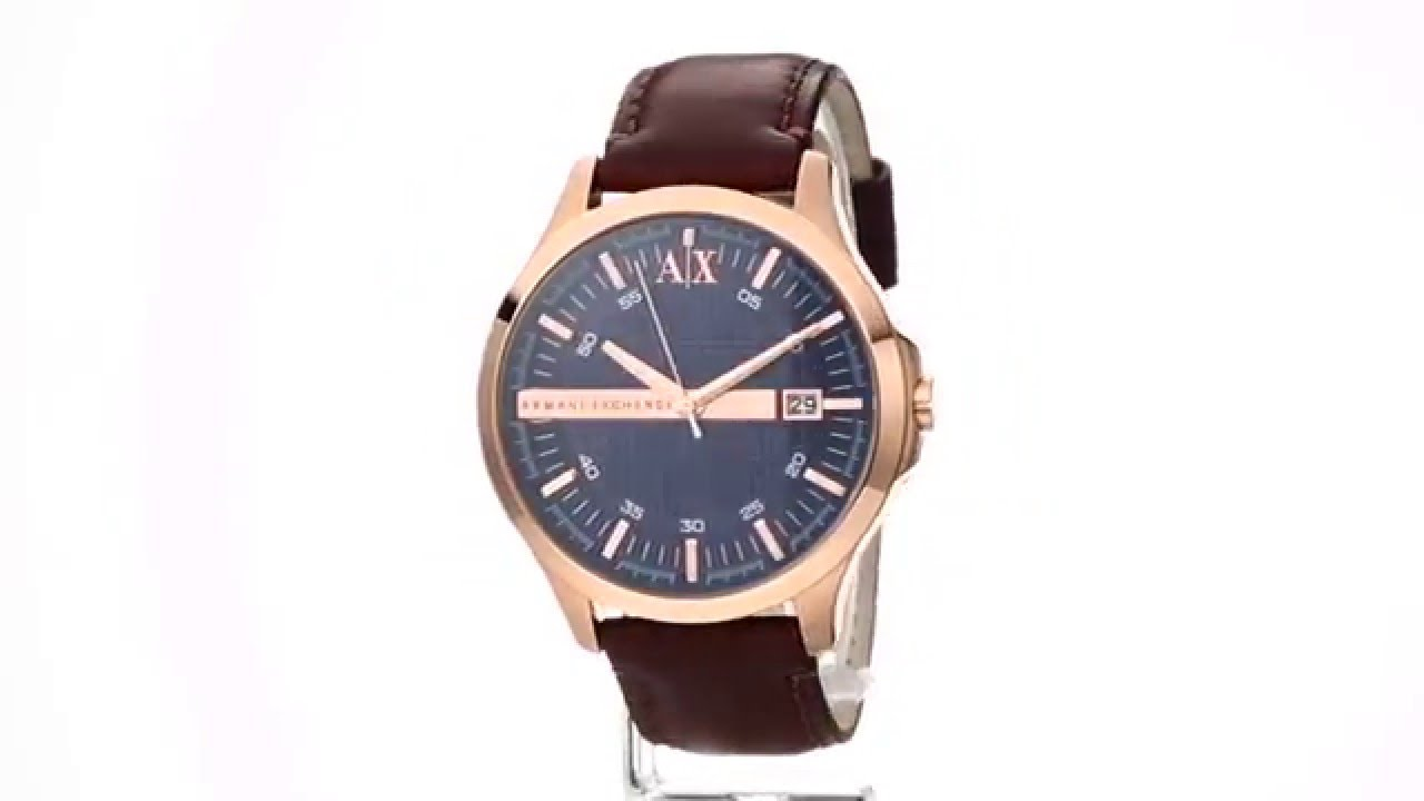 AX Armani Exchange - Hampton - AX2172 SKU 8634357 - YouTube 7a5898e749