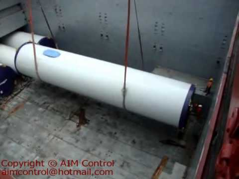 HEAVY LIFT SUPER PROJECT CARGO LOADING SECURING SURVEY INSPECTION  copyright@AIM