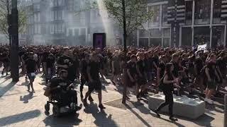 Sturm Graz supporters op het Damrak