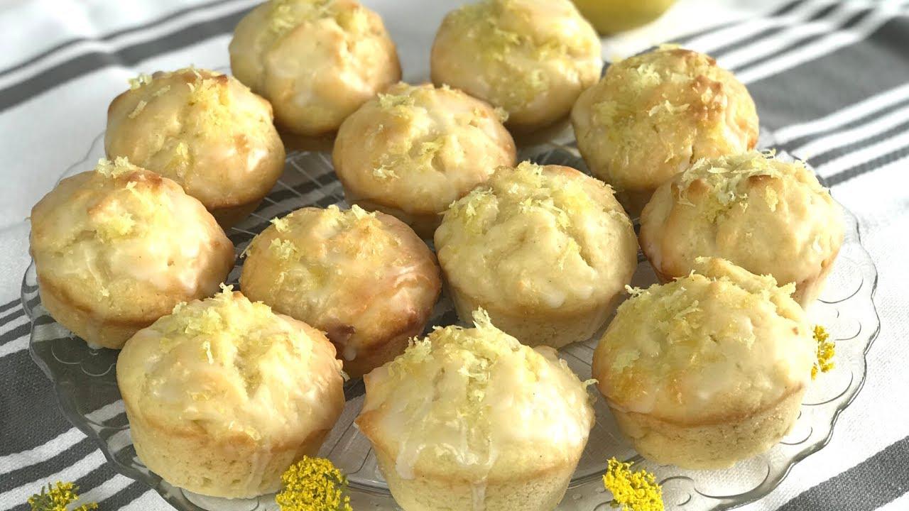 Köstliche, saftige Zitronen Muffins backen | Lemon Muffins blitzschnell gezaubert