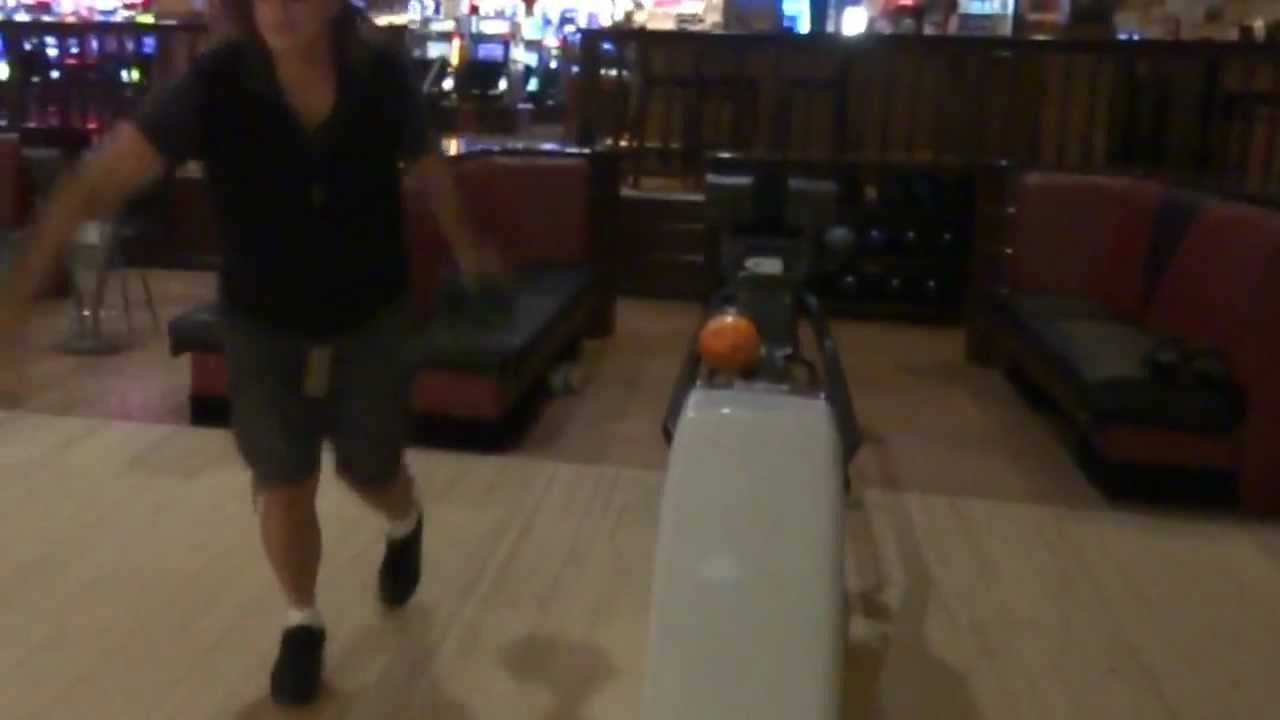 bowling at terribles casino bowl part 13 a strike to start off the first frame