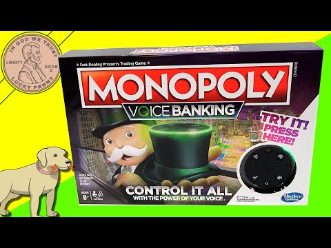 Monopoly Voice Banking Family Game Review