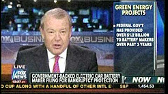 """A123 Systems is Added to Long List of """"Green Energy"""" Failures Endorsed by Barack Obama"""