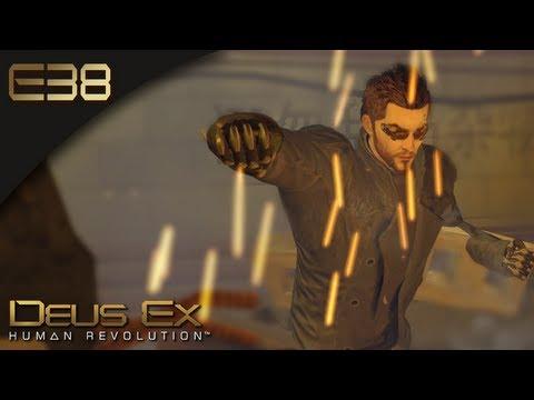 Deus Ex: Human Revolution [BLIND] - E38 - Escape The Alice Garden Pods (Gameplay)